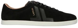 Lanvin JL leather trainers