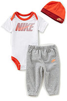 Nike Baby Boys Newborn-12 Months Futura Swoosh 3-Piece Pant Set