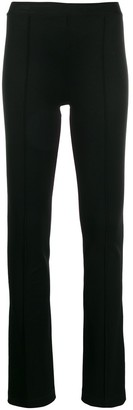 Helmut Lang Flared Pull-On Leggings