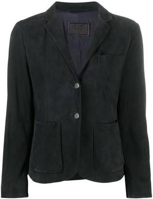 Prada Pre-Owned Single-Breasted Blazer