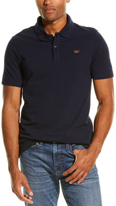 Paul & Shark Pique Polo Shirt