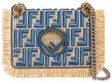 Fendi Small Kan I Leather Shoulder Bag
