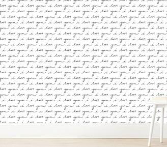 Pottery Barn Kids Love Note Wallshoppe Wallpaper