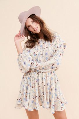 Free People Flower Fields Mini Dress
