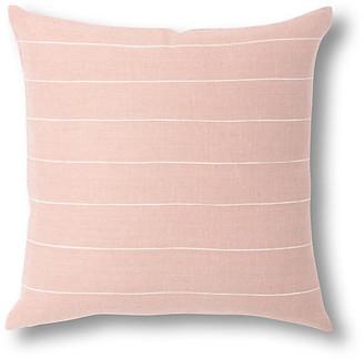 Bole Road Textiles Melkam 18x18 Pillow - Dusty Rose