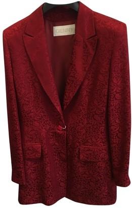 Genny Burgundy Jacket for Women Vintage