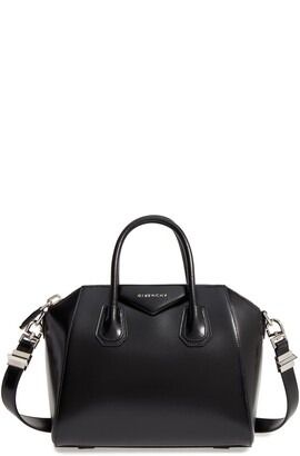 Givenchy Small Antigona Box Leather Satchel