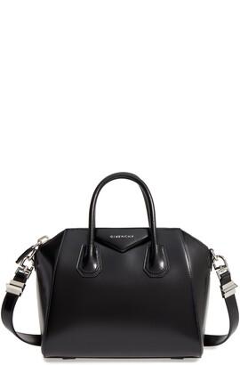 Givenchy Small Antigona Box Leather Satchel