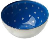 Sheridan Silver & Sapphire Pin Dot Condi Bowl