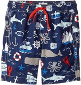 Hatley Vintage Nautical Swim Trunks Boy's Swimwear