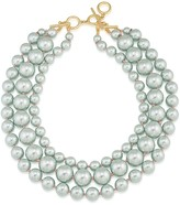 Carolee Triple Strand Collar Necklace, 18
