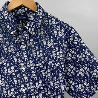 Tie Bar Liberty Capel Floral Navy Short Sleeve Shirt