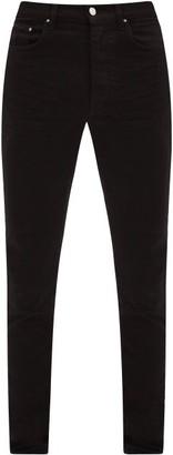 Amiri Stack Slim-fit Jeans - Black