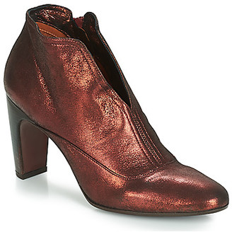 Chie Mihara women's Low Ankle Boots in Red