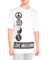 Love Moschino Logo Symbol Graphic Tee