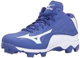 Mizuno 9 Spike ADV YTH FRHSE8 MD RY-WH Youth Molded Cleat (Little Kid/Big Kid)