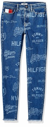 Tommy Hilfiger Women's Adaptive Jegging Jeans with Adjustable Hems and Velcro Brand Closure