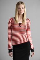 SONIA by Sonia Rykiel Stripe Long Sleeve Top