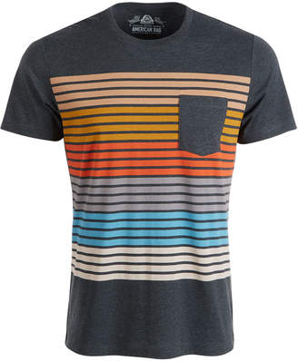American Rag Men Colorblocked Striped T-Shirt