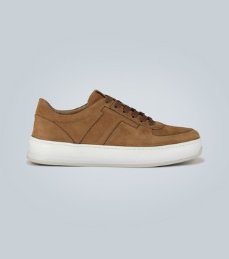 Tod's Nubuck T-detail sneakers