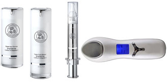 2 Face Evolution Anti-Aging Brightening Set Plus Non-Surgical Anti-Aging Dual Face & Eye Ultrasonic Infuser