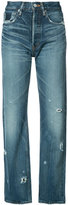 Moussy high-rise cropped jeans - women - Cotton - 25