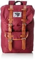 Gola Classics Unisex-Adult Bellamy 2 Backpack Burgundy/Tan