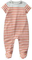 Gap Neon striped footed one-piece