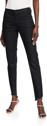 Lafayette 148 New York Mercer Primo Denim Step-Hem Ankle Jeans