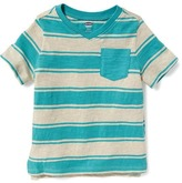 Old Navy Striped V-Neck Tee for Toddler