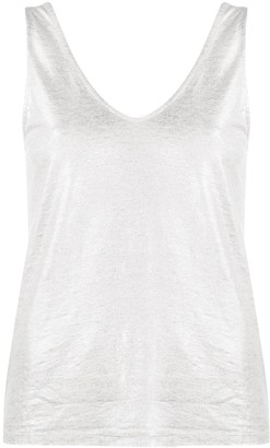 Majestic Filatures Metallic Vest Top