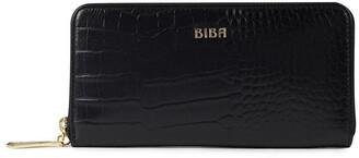 Biba Slip pocket zip around purse