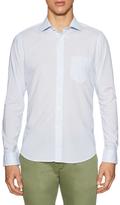 Gant Striped Spread Collar Sportshirt
