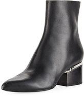 Alexander Wang Jude Block-Heel Leather Boot