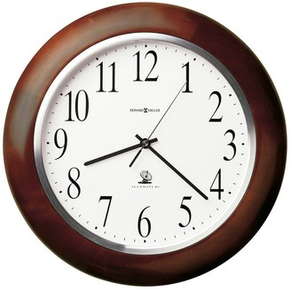 Howard Miller Murrow Classic, Modern, Transitional Wall Clock with Large Numbers, Reloj De Pared