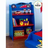 Kid Kraft 3 Years and Up Racecar Bookcase
