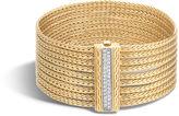 John Hardy Classic Chain Nine Row Bracelet with Diamonds
