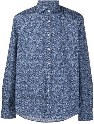 Hackett Floral Print Shirt
