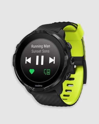 Suunto Yellow Fitness Trackers - 7 Black Lime - Size One Size at The Iconic