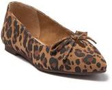 Seychelles In Theme Suede Leopard Print Flat
