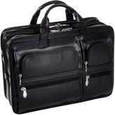 McKlein McKleinUSA Hubbard 15.6 Leather Double Compartments Laptop Briefcase