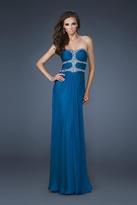 La Femme 18560 Bedazzled Sweetheart Sheath Dress