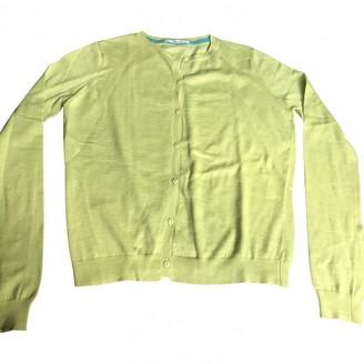 Acquaverde Yellow Wool Knitwear for Women