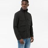 Paul Smith Men's Black Cotton-Blend Showerproof Field Jacket