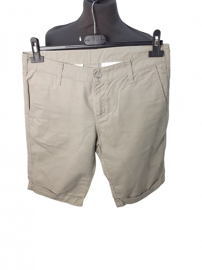 Carhartt Beige Cotton Shorts for Women