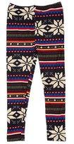 Expert Design Girl's Popular & Famous Pattern Print Leggings for Holiday Gift - L/XL