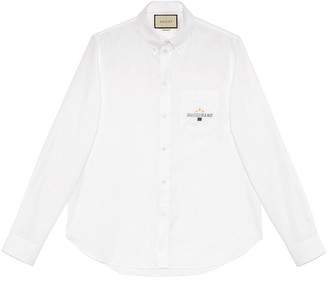Gucci Oxford cotton shirt with Band