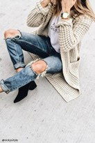Forever 21 FOREVER 21+ Waffle Knit Cardigan