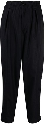 YMC High-Waist Cropped Trousers