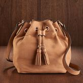 LC Lauren Conrad Runway Collection Leather Bucket Bag
